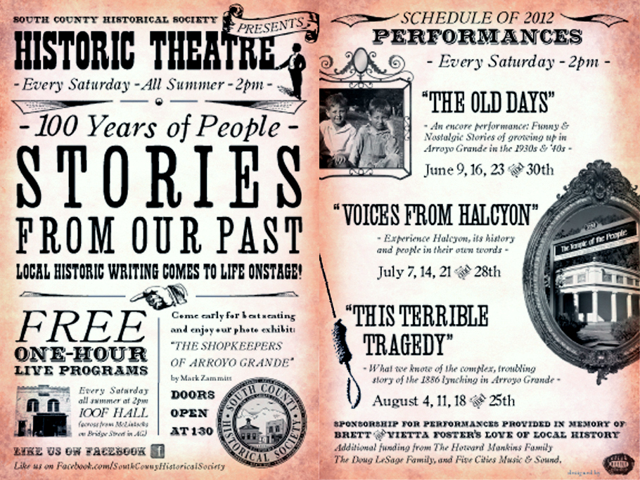 Readers' Theatre Postcard
